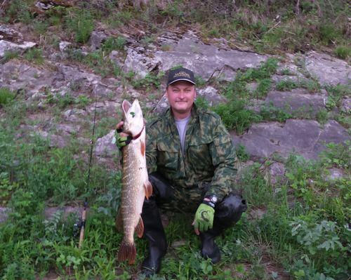 Рыбалка в Свердловской области с Андреем Толкачёвым