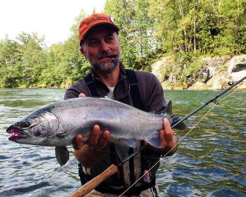 Рыбалка на Камчатке. Рыболовный лагерь на реке Ича