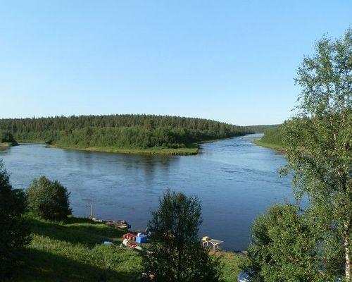 Рыбалка на базе Лебяжья, река Поной