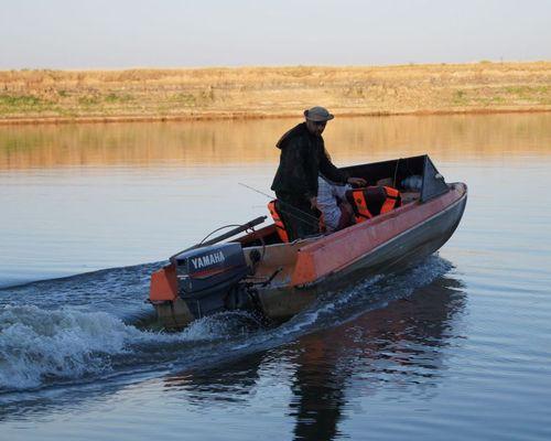 База «Река удачи» на реке Ахтуба