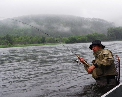 Тайменевая рыбалка на реке Тумнин