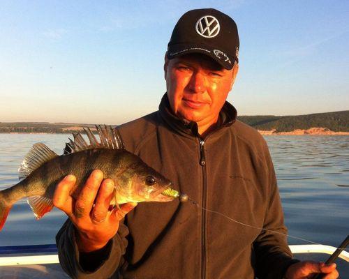 Рыбалка на Каме с Сергеем Родионовым