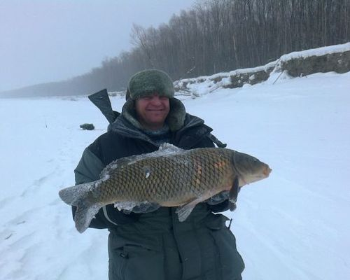 Рыбалка на Оби с Александром Малкиным