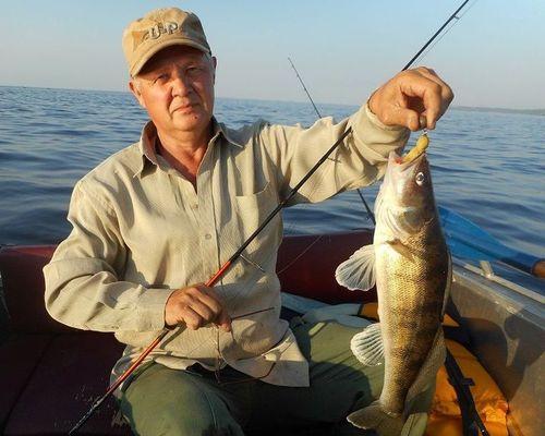 Зимняя рыбалка в Саратовской области с Сергеем Кудиновым