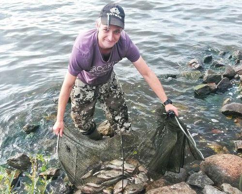 Рыбалка на Иваньковском водохранилище с Александром Глазуновым