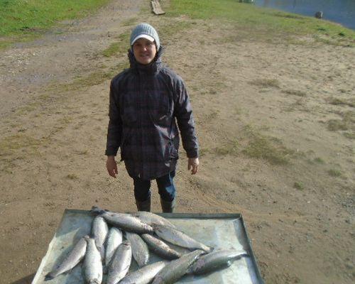 Рыбалка на пруду Пионерский
