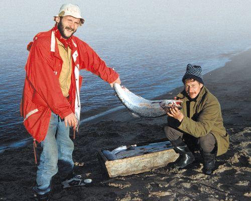 Рыбалка на Кольском полуострове, Терский берег