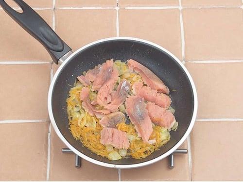 Крем суп из рыбы