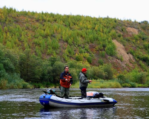 Сплав по реке Даги (северо-восточный Сахалин)