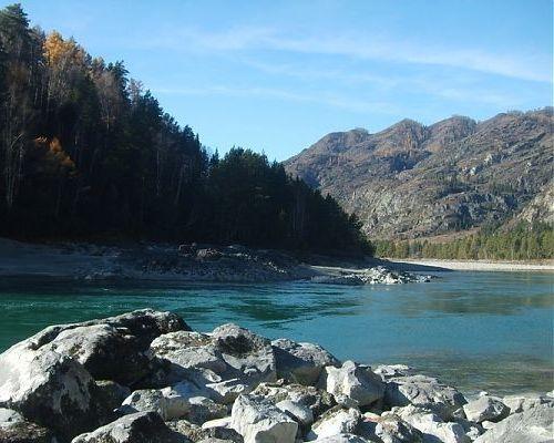 Рыболовный тур на реке Катунь