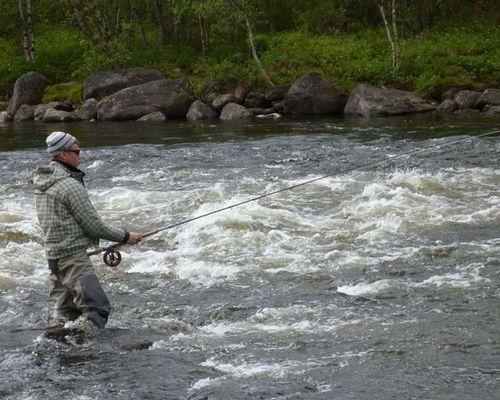 Эксклюзивная рыбалка на сёмгу на реке Кола