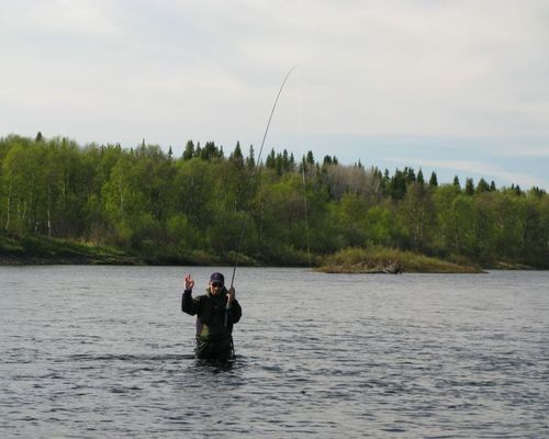 Рыболовный тур на семгу, Белое море