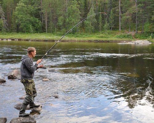 Лицензионная рыбалка на сёмгу, реки Пана, Индель