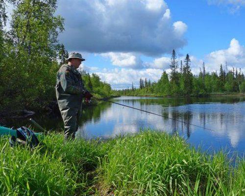 Рыбалка на семгу, Терский берег