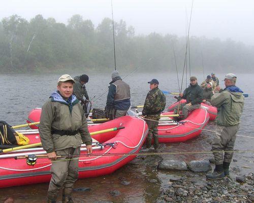 Рыбалка-сплав по реке Жупанова