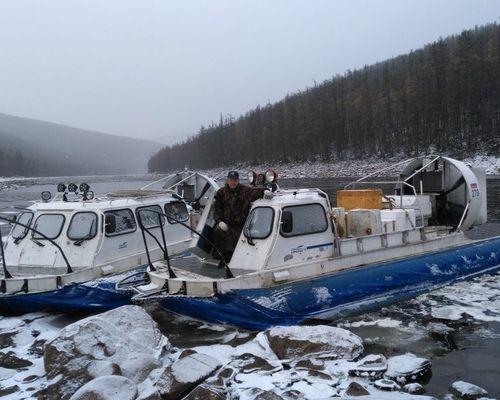 Рыболовный тур по якутским рекам