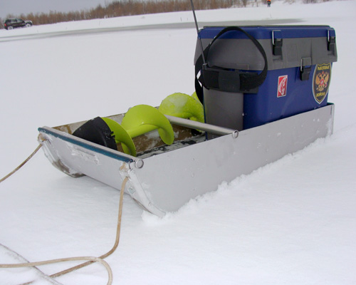 Санки для зимней рыбалки своими руками