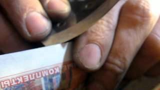 Как точить ножи для ледобура