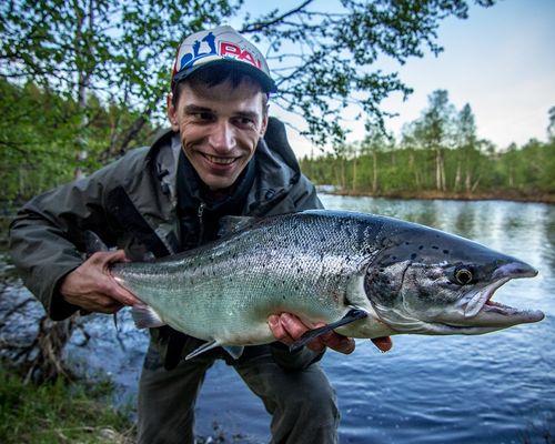 Рыбалка в Мурманской области с Максимом Коровиным