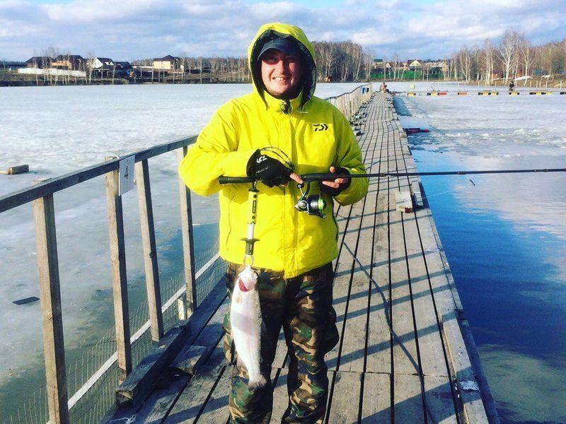 Рыбалка в Московской области с Алексеем Ветровым