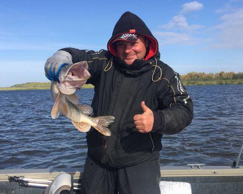 Рыбалка на Волге и Ахтубе с Владимиром Брычкиным