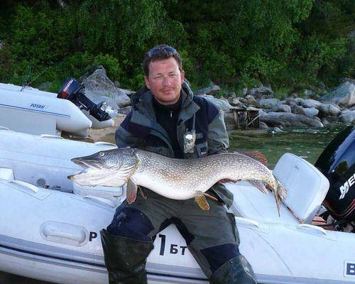 Рыболовный круиз по Байкалу