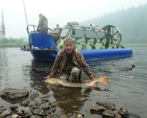 Таймень. Рыбалка на притоках Подкаменной Тунгуски