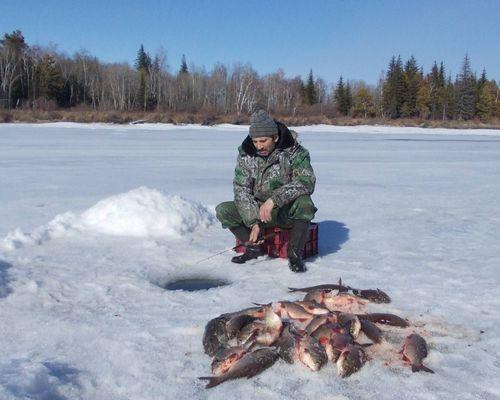 Зимняя рыбалка на Байкале и Верхней Ангаре