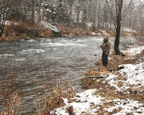 Рыбалка в Кемеровской области с Яковлевым Андреем