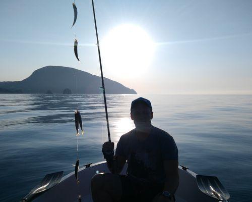 Рыбалка в Гурзуфе с Сергеем