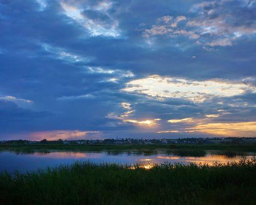Большое Остабное озеро