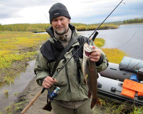 Сплав с рыбалкой на реке Таймура