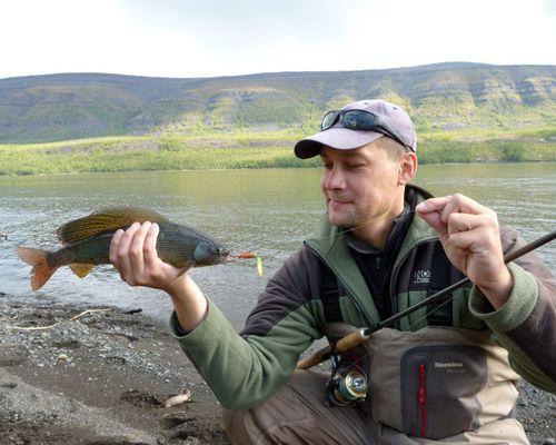 Рыбалка на озерах Харпича, Люксина и Дюпкун со сплавом по Котую