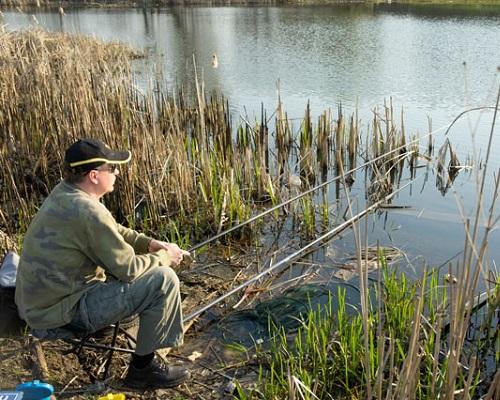 Лов рыбы в весенний период