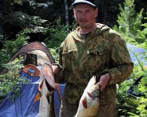 Рыбалка на таежных озерах Томской области