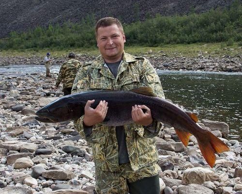 Сплав по реке Котуйкан с рыбалкой