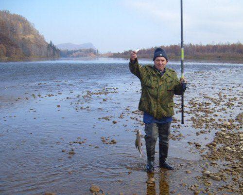 Рыболовный тур на реке Бий-Хем