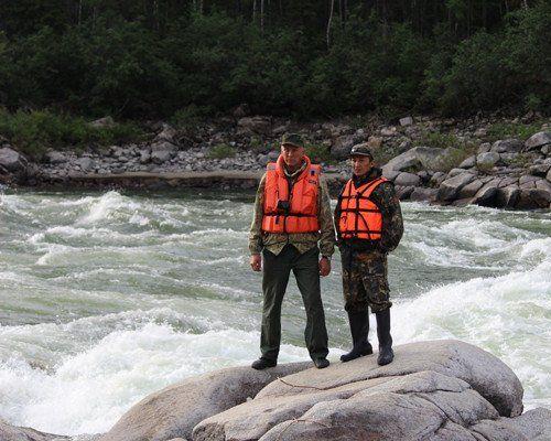 Рыболовный тур по реке Хамсара
