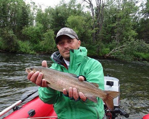 Рыболовный тур по рекам и озерам Тывы