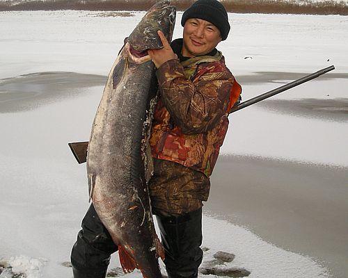 Рыбалка в Томпонском улусе
