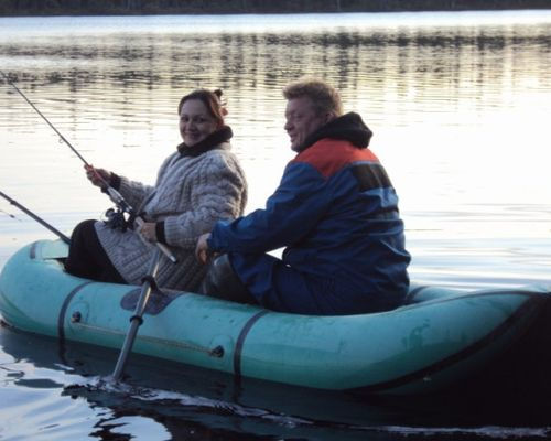 Рыбалка на реках Кольского полуострова с Дарьей