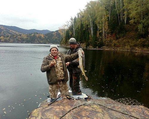 Рыбалка в Хакасии с Валентином