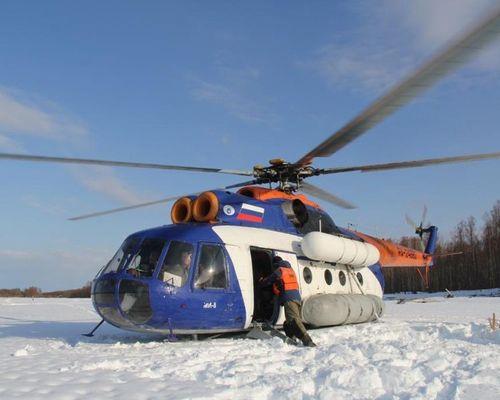 Тур по реке Нимелен с заброской на вертолете