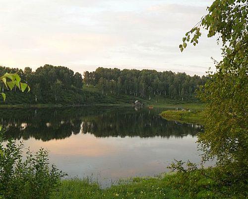 Пруд на реке Сосновка