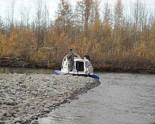 Рыбалка на реке Белянка