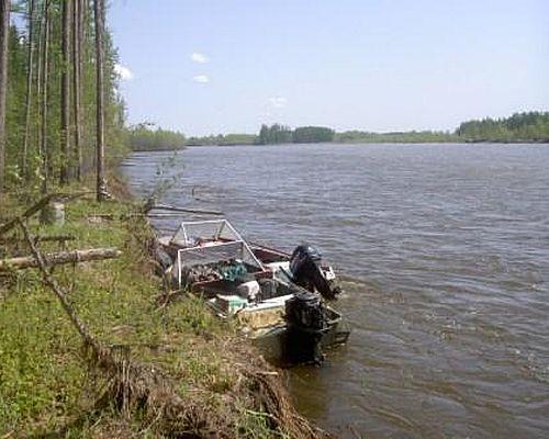 Рыбалка на реке Келе