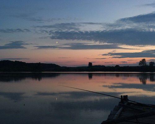Рыбалка на Кобылинском пруду