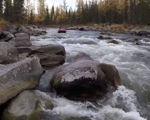 Рыбалка на реке Баш-Хем