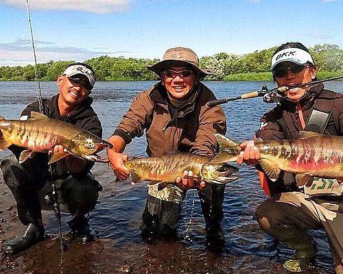 Экспедиционная рыбалка по реке Камчатка