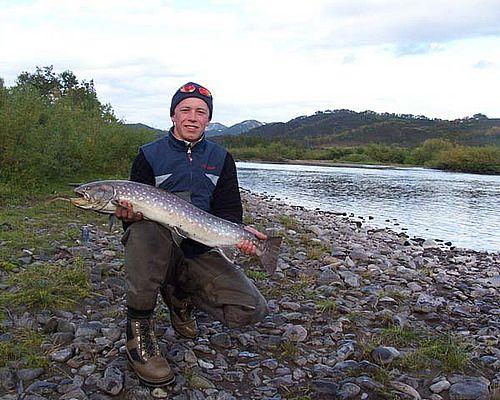 Рыбалка на реке Вахиль